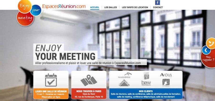Espaces réunion : référencement wordpress