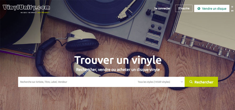 Vinylunity : catalogue actualisable